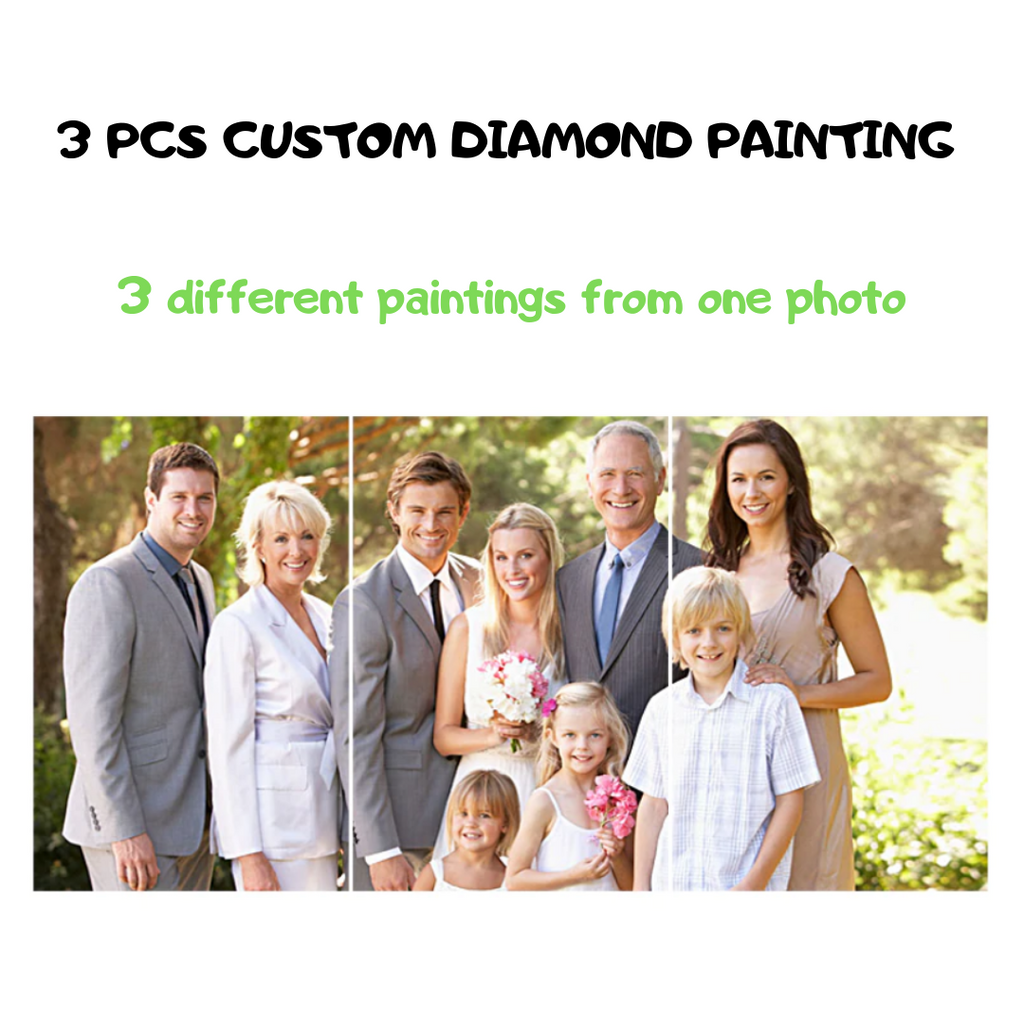Multi-Custom Painting (3PCS)-DIY Diamond Painting