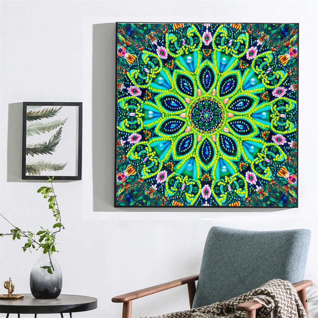 Abstract Flower Art