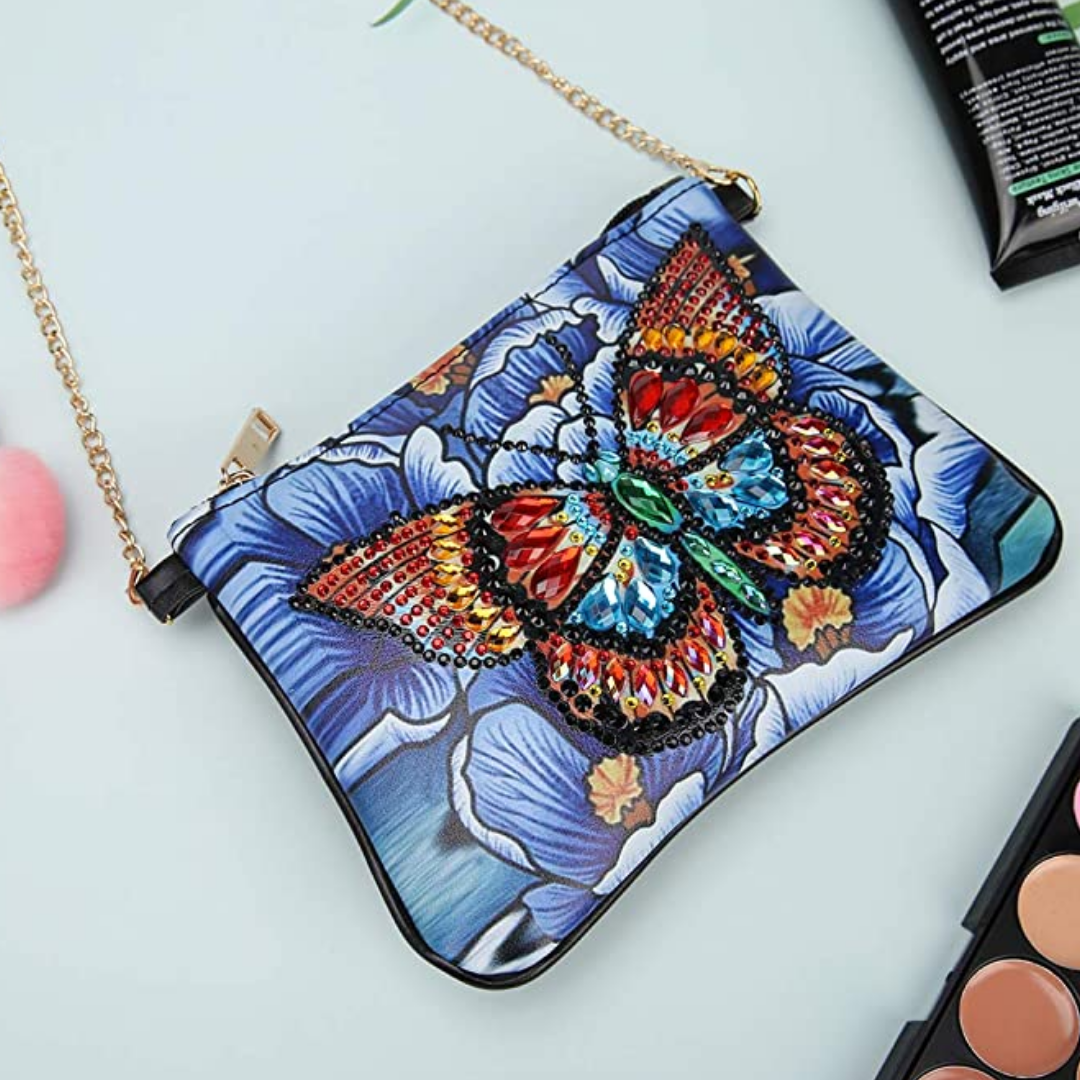 Magnificent Butterfly Diamond Painting CrossBody Bag-DIY Diamond Painting