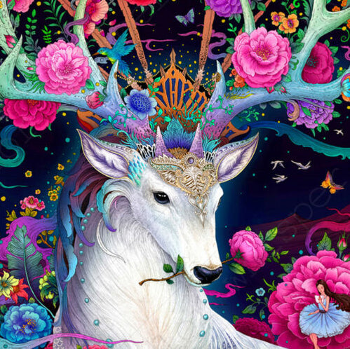 Colorful Deer-DIY Diamond Painting