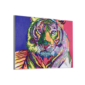 Colorful Fierce Tiger