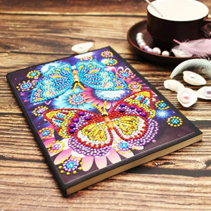 Butterfly Romance Diamond Painting Notebook