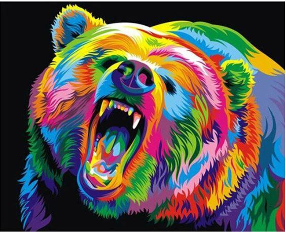 Colorful Bear-DIY Diamond Painting