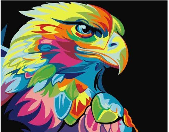 Colorful Eagle-DIY Diamond Painting