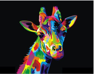 Colorful Giraffe-DIY Diamond Painting