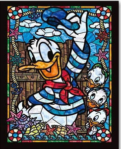 Daisy and the ducklings-DIY Diamond Painting