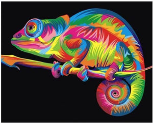 Coloful Cameleon-DIY Diamond Painting