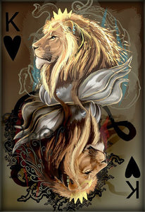 King Hearts of Lions-DIY Diamond Painting