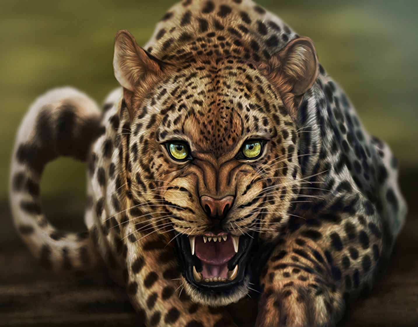 Beautiful Leopard