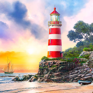 Lighthouse-DIY Diamond Painting