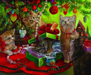 Cats Christmas Party
