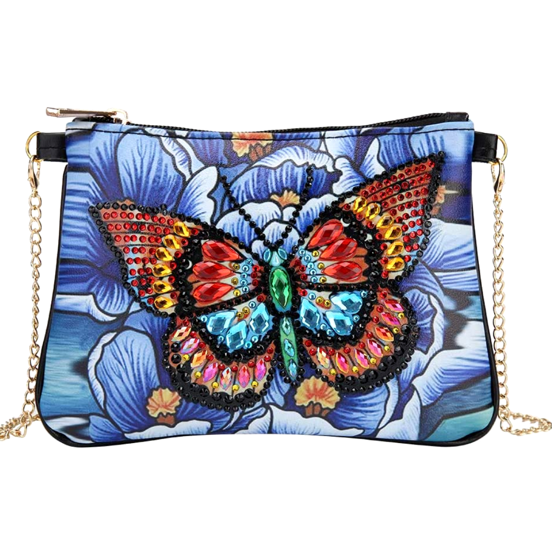 Magnificent Butterfly Diamond Painting CrossBody Bag