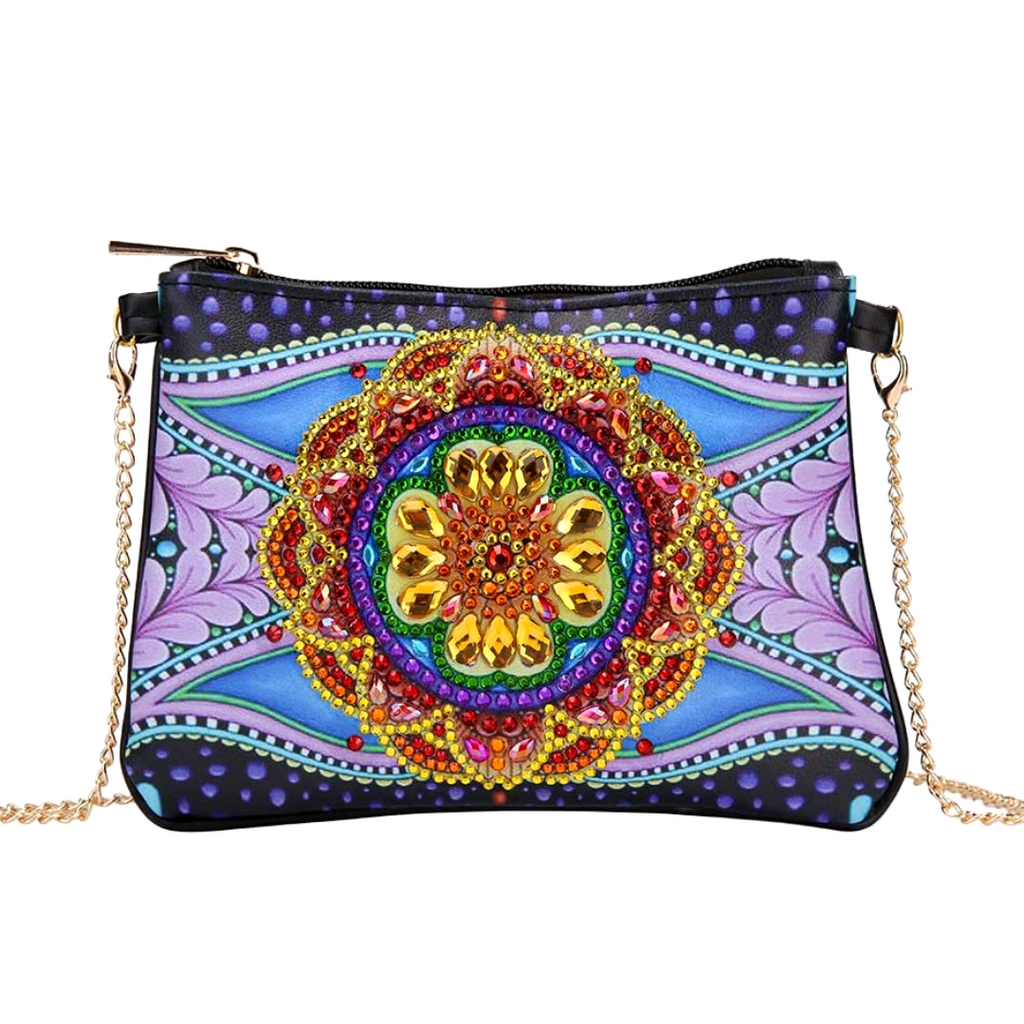 Mandala Diamond Painting CrossBody Bag-DIY Diamond Painting