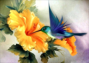 Bird and the Flower-DIY Diamond Painting