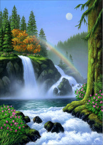 Wonderful Waterfalls-DIY Diamond Painting