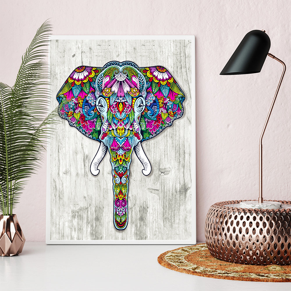 Abstract Elephant