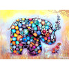 Colorful Elephant-5D DIY Diamond Painting , Diamond Painting kit