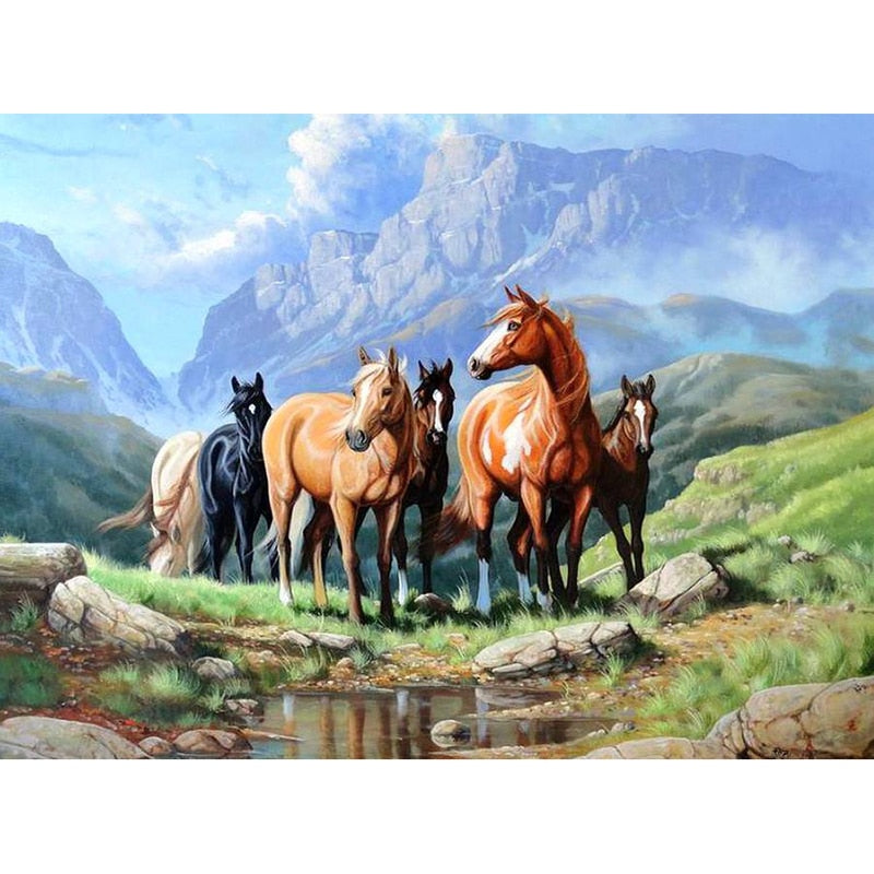 Wild Horses-DIY Diamond Painting