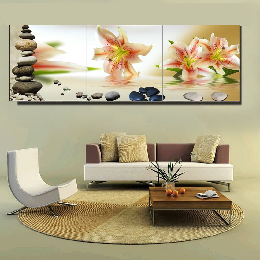 Lily Flowers-5D DIY Diamond Painting , Diamond Painting kit