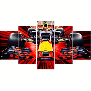 F1 Racing Car-5D DIY Diamond Painting , Diamond Painting kit