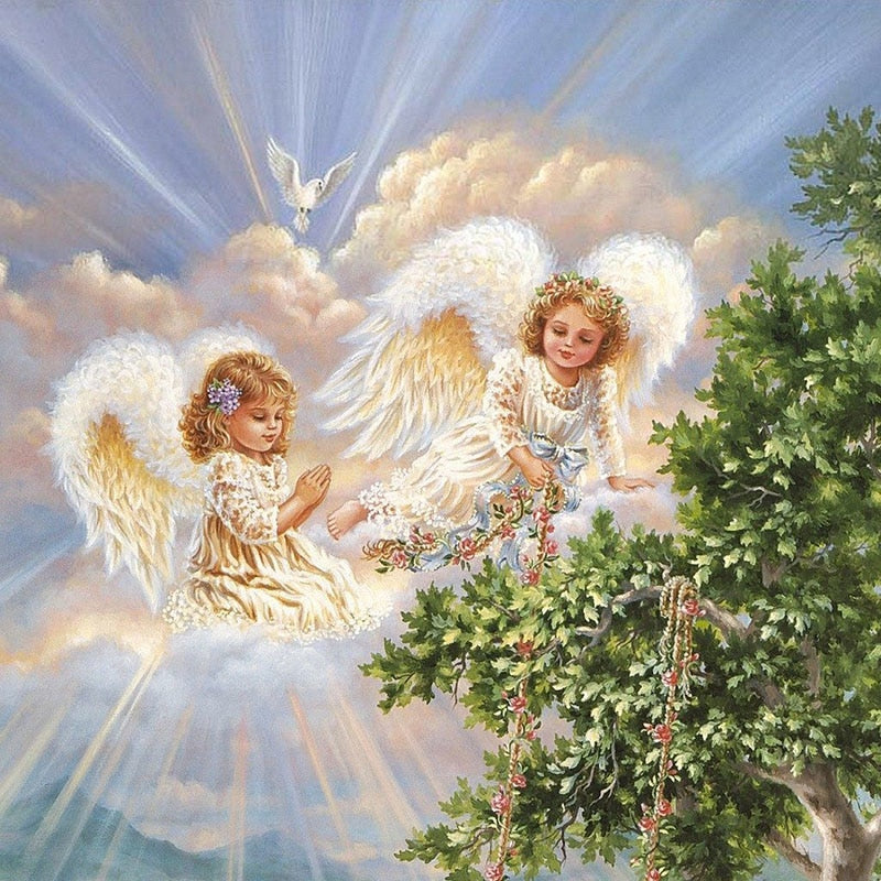 Little Angels-DIY Diamond Painting