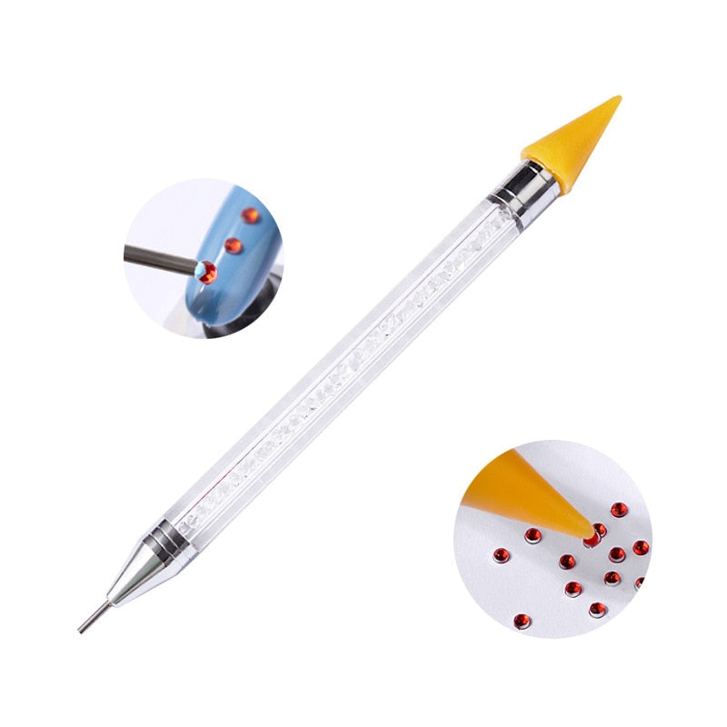 Dual-Sided Premium Wax Diamond Pen-5D DIY Diamond Painting , Diamond Painting kit