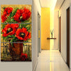 Poppy Flowers-5D DIY Diamond Painting , Diamond Painting kit