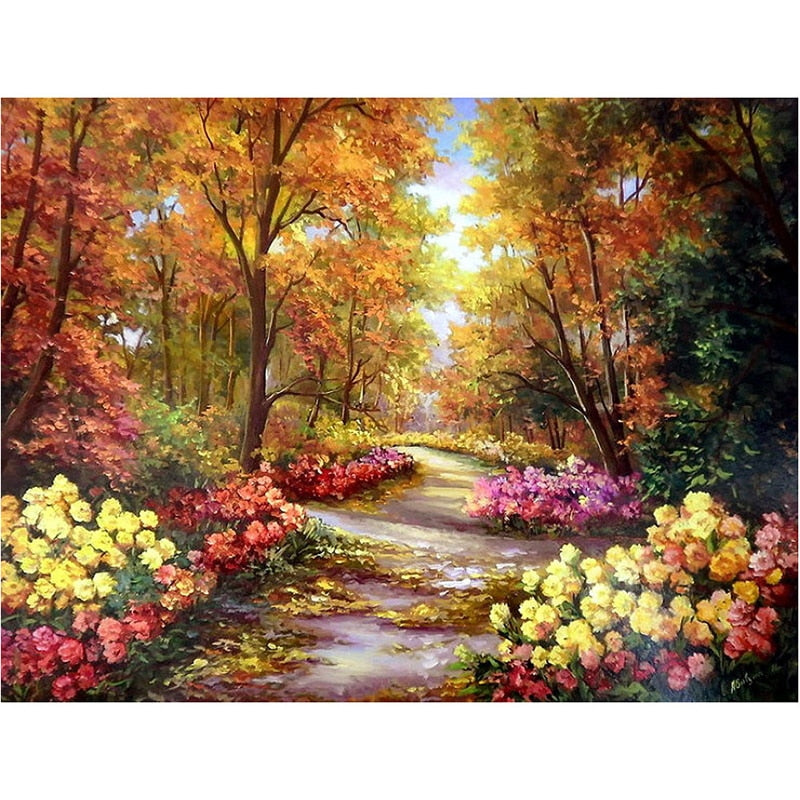 Colorful Forest-5D DIY Diamond Painting , Diamond Painting kit