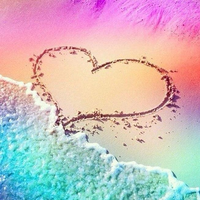 Love Beach-DIY Diamond Painting