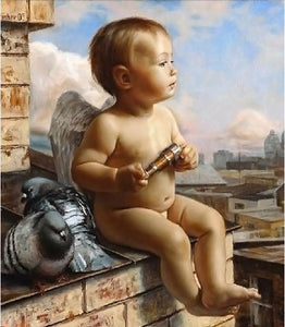 Little Angel-5D DIY Diamond Painting , Diamond Painting kit