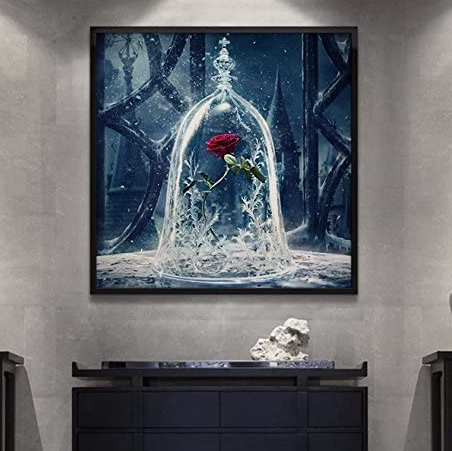 Frozen Rose-DIY Diamond Painting