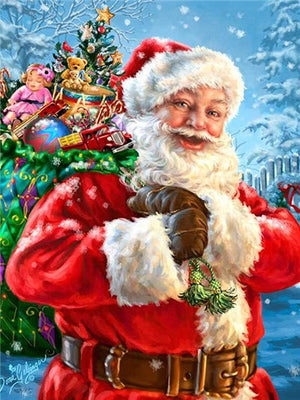 Santa Claus Christmas Collection-DIY Diamond Painting
