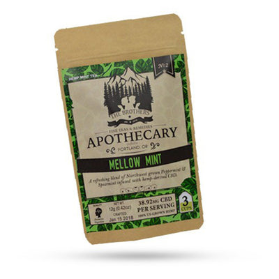 Apothecary Brothers - CBD Tea - MellowMint