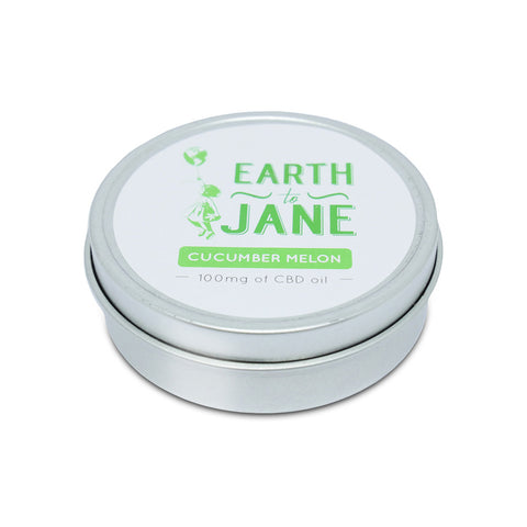 Earth To Jane - CBD Balm Relief - Cucumber Melon