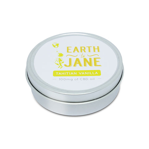 Earth To Jane - CBD Balm Relief - Tahitian Vanilla