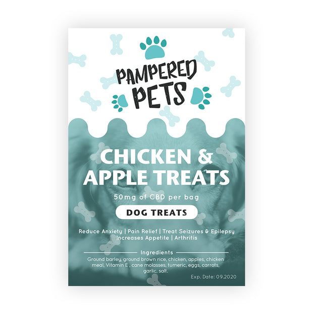 Pampered Pets Chicken & Apple treats