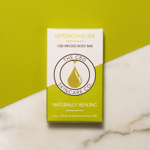 CBD Body Bar Lemongrass
