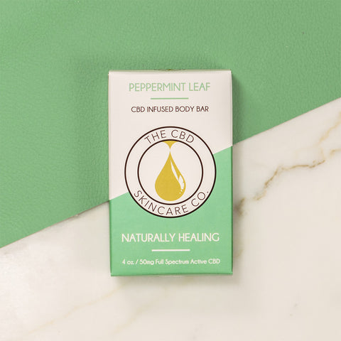 Body Bar - Peppermint Leaf