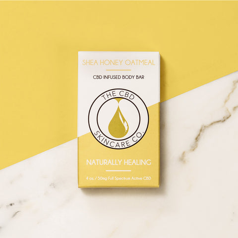 CBD Body Bar Shea Honey