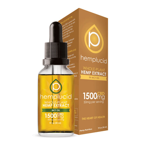 Hemplucid - Whole-Plant - Hemp Extract