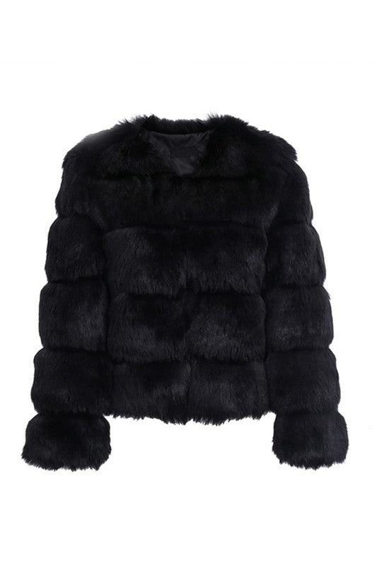 ICED OUT Faux Fur Coat