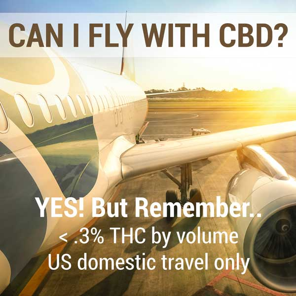 Can I fly with CBD