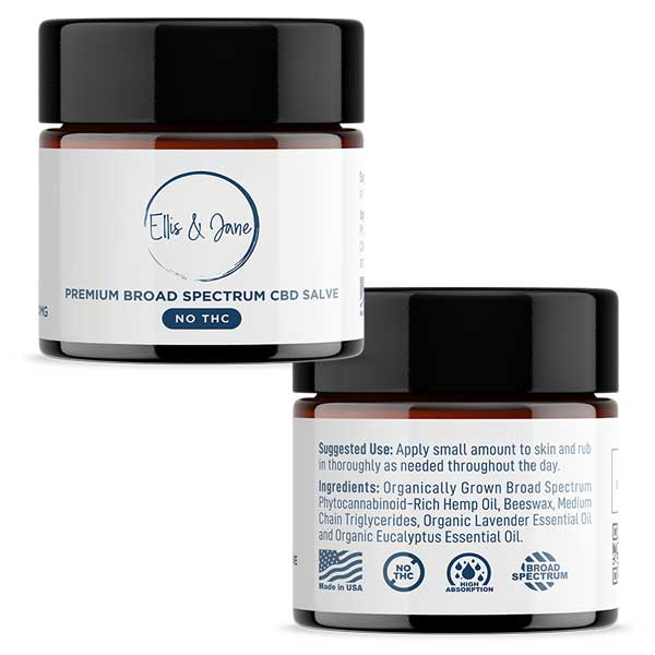 CBD Salve Balm without THC