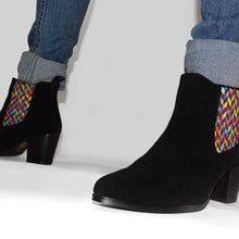 Load image into Gallery viewer, Chelsea Boots - Women's Graceful - Rainbow Scales