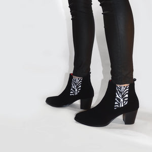 Chelsea Boots - Women's Graceful - Zebra