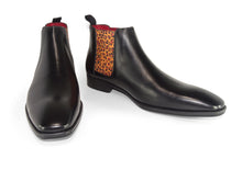 Load image into Gallery viewer, Chelsea Boots - Men's High Cut - Leopard