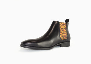 Chelsea Boots - Men's High Cut - Leopard