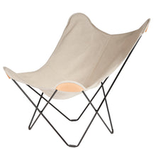 Load image into Gallery viewer, Hemp Canvas Butterfly Chair - Canvas Mariposa