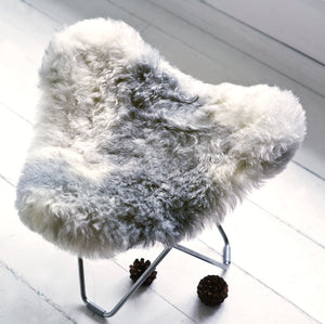 Sheepskin Stool - Iceland Flying Goose
