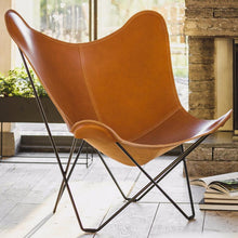 Load image into Gallery viewer, Leather Butterfly Chair - Pampa Mariposa